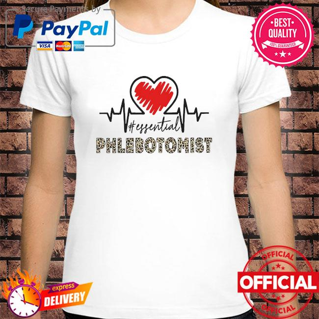 Heartbeat #essential phlebotomist shirt