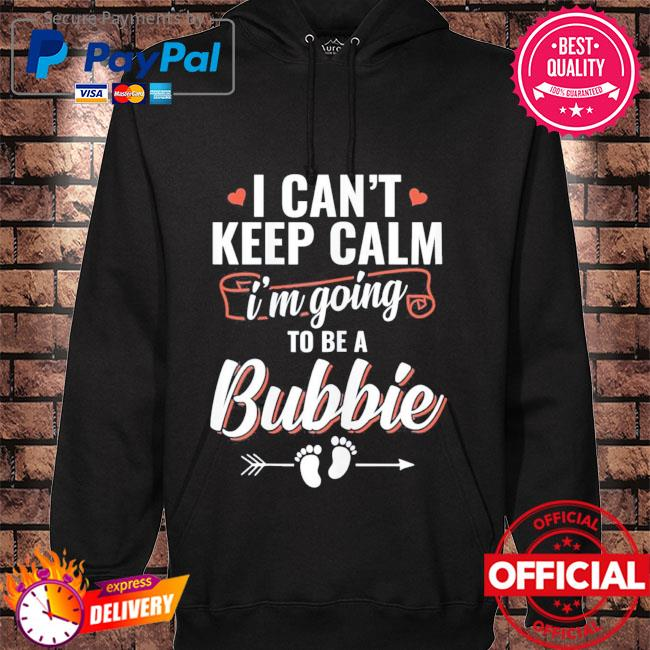 I'm going to be a bubbie mother's day hoodie black