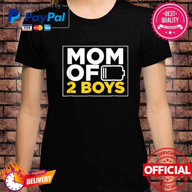 Mom of 2 boys shirt mothers day us 2021 shirt