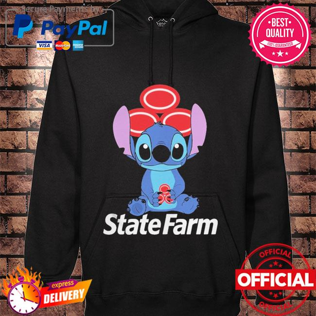 Official Baby stitch hug State Farm 2021 hoodie black