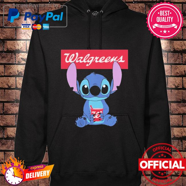 Official Baby stitch hug Walgreens 2021 hoodie black