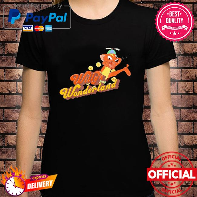 Official Willy's wonderland baby shirt