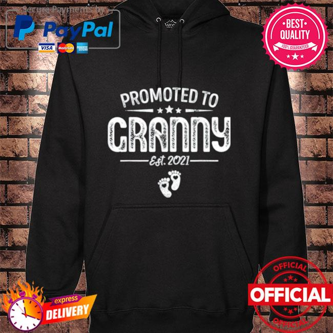 Promoted to granny est 2021 hoodie black