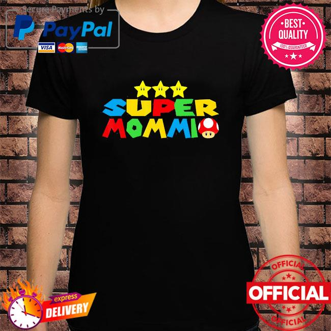 Super mommio video game lover mothers day shirt
