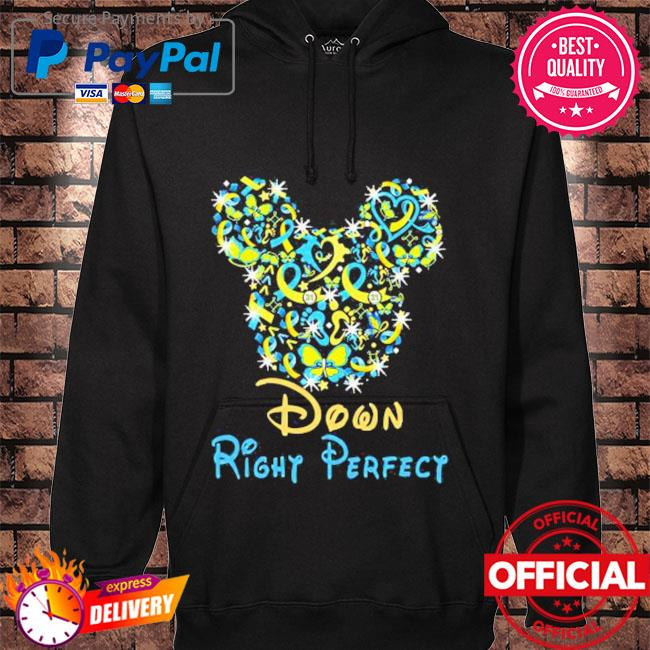 Down right perfect mickey mouse disney s hoodie black