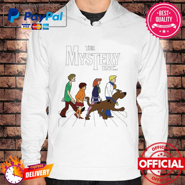 Official scooby doo the mystery inc abbey road s Hoodie white