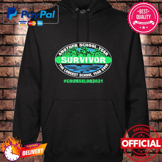The longest school year ever counselor 2021 s hoodie black