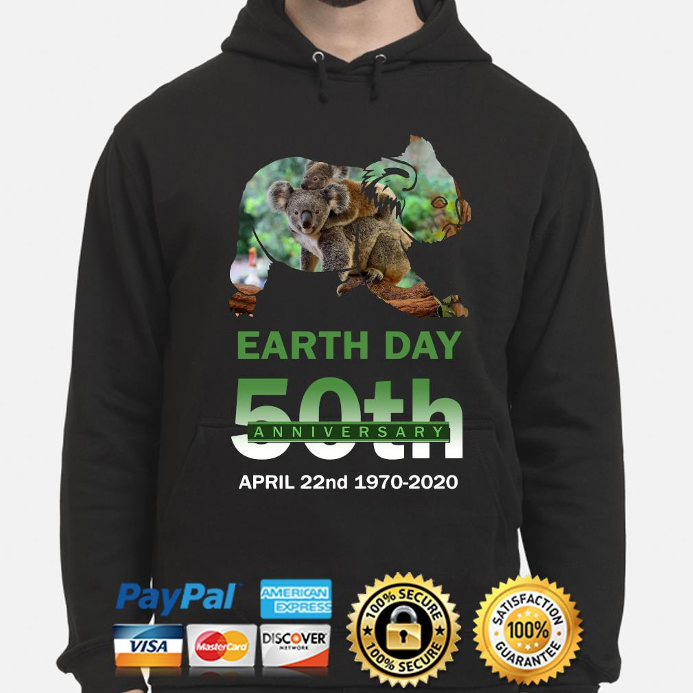 Koalas Earth day 50th anniversary April 22 2020 s hoodie