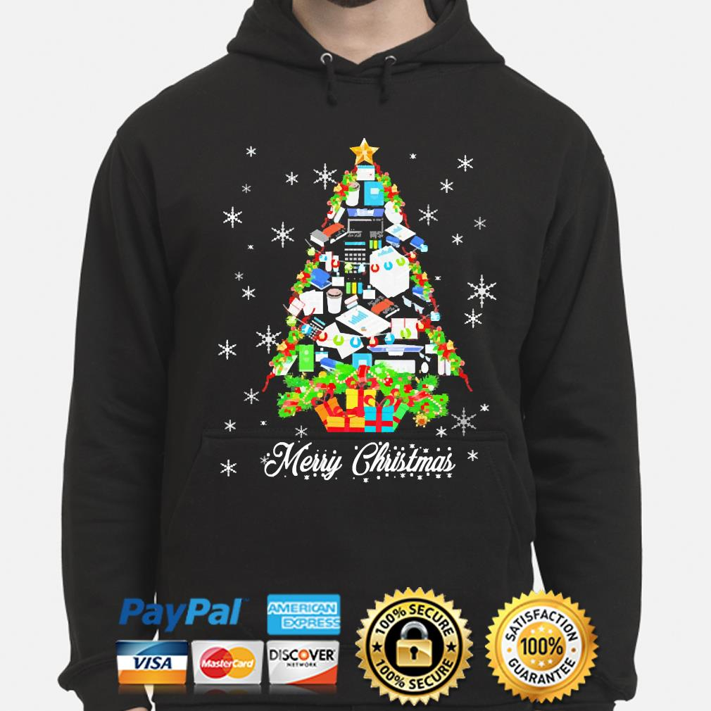 Accountant Merry Christmas Sweater hoodie