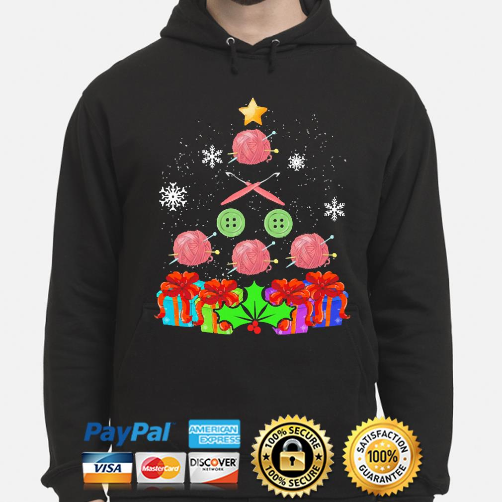 Crochet And Knitting Christmas Sweater hoodie
