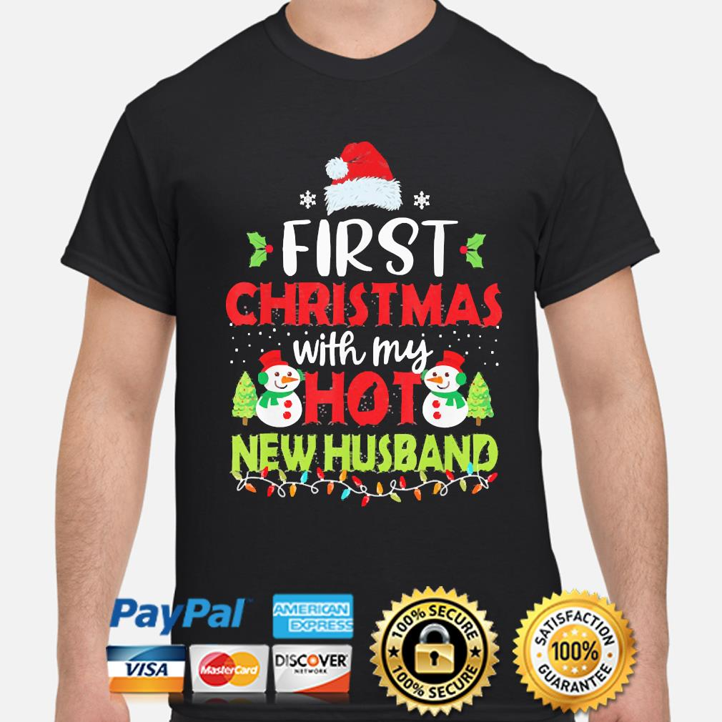 First Christmas with my hot New Husband Christmas sweater