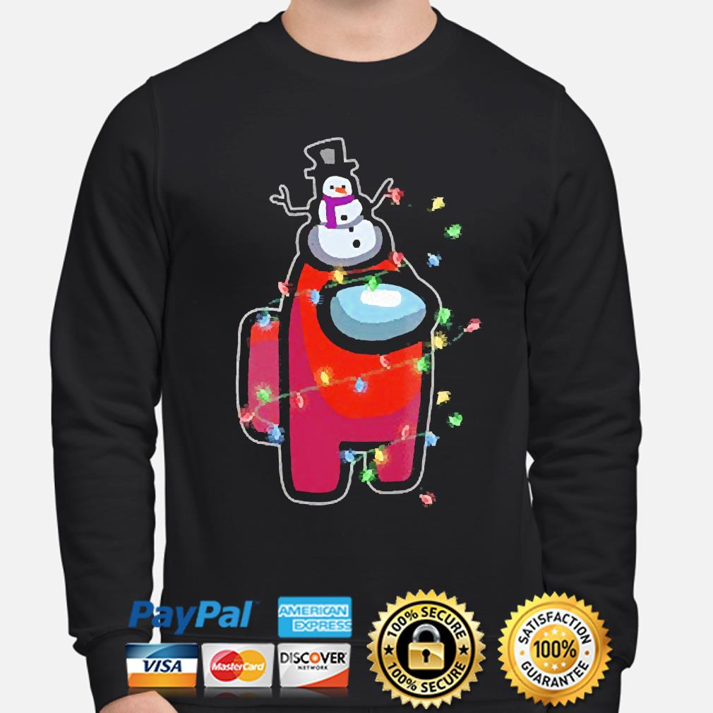 Christmas Santa Among Us Character snowman 2020 sweater sweater