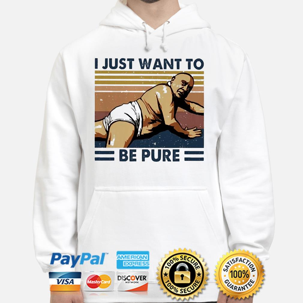 Frank Reynolds I just want to be pure vintage s hoodie