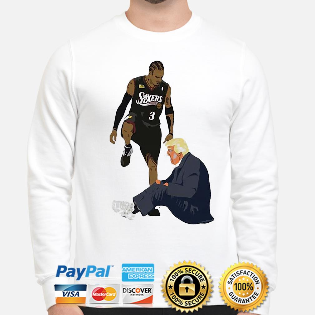 Official Allen Iverson Steps Over Donald Trump Funny s sweater