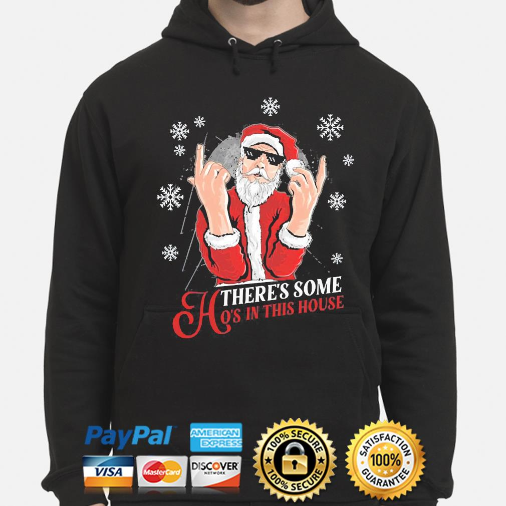 There's some hoes in this house christmas sweater hoodie
