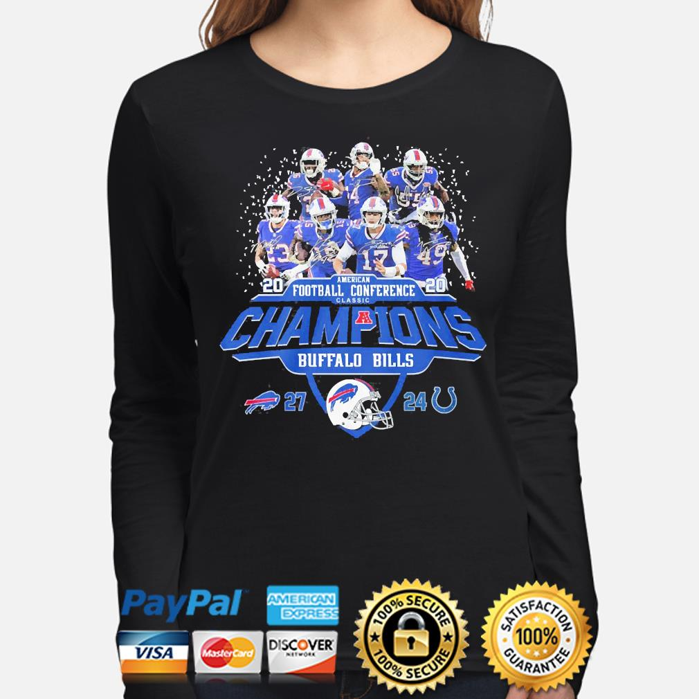 Buffalo Bills American football Conference classic champions signature s long-sleeve