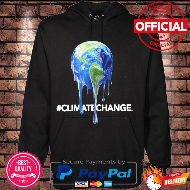 Legendary themed melting earth climate change s Hoodie black