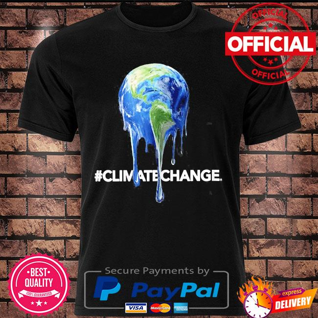 Legendary themed melting earth climate change shirt