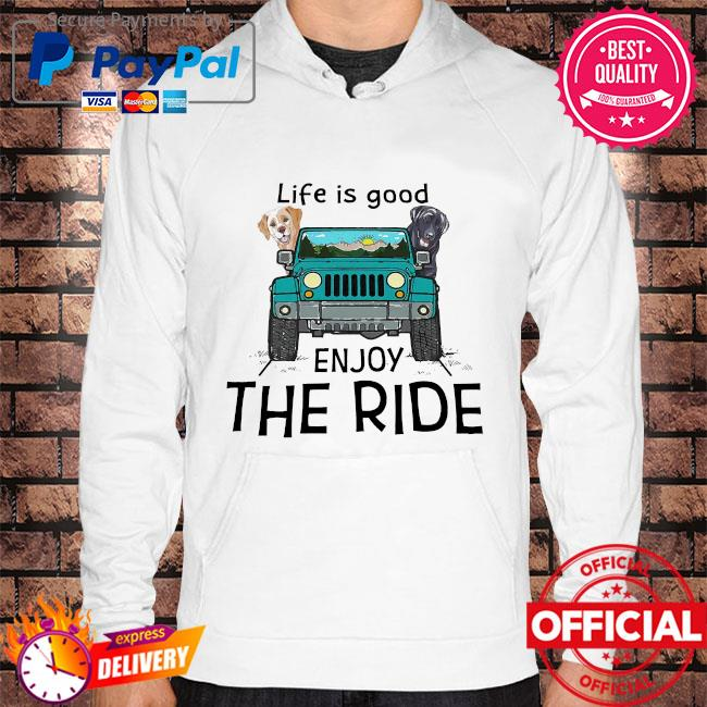 Official Bulldogs life is good enjoy the ride s Hoodie white
