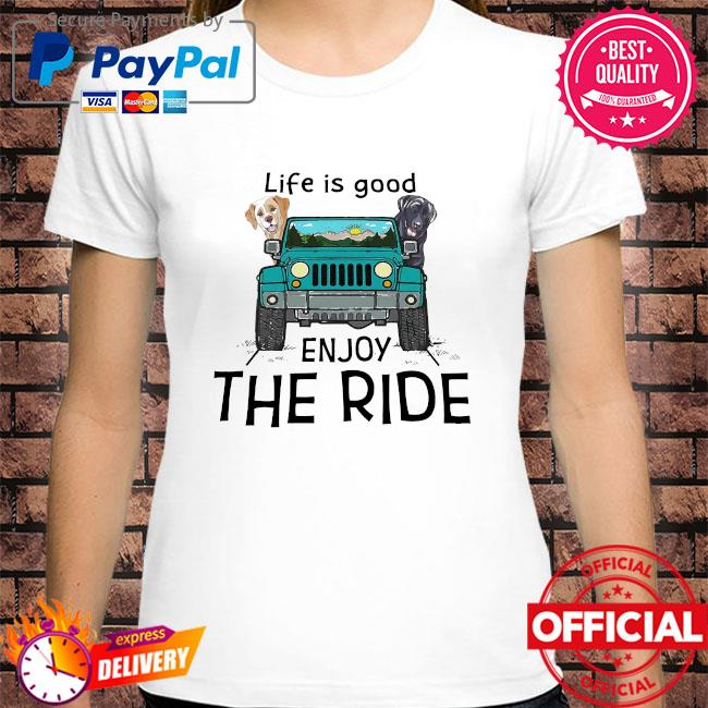 Official Bulldogs life is good enjoy the ride shirt