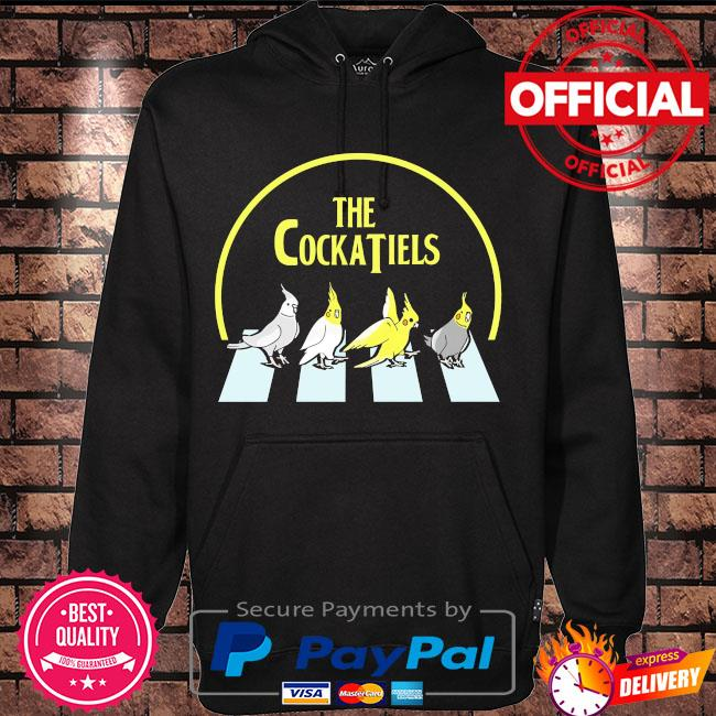 Official The Cockatiels Abbey Road s Hoodie black